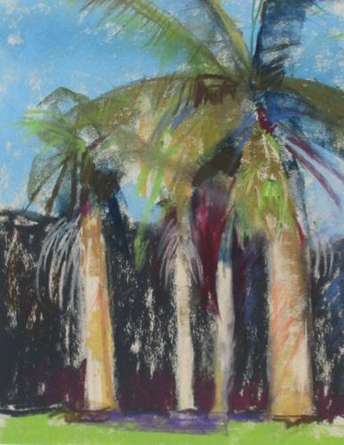 Distant palms