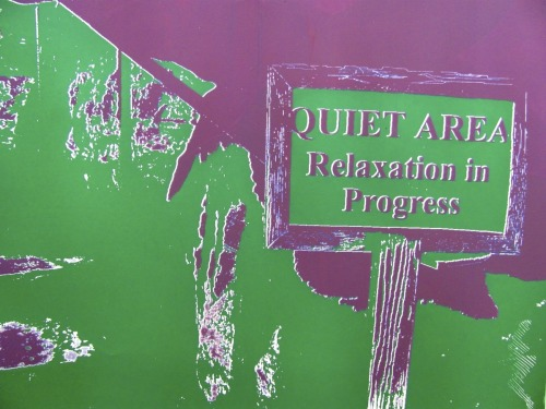 Sign in Jackson Hole Purple and Green