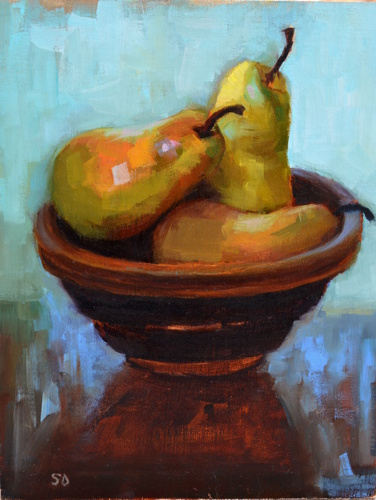 Pears by suzy durband