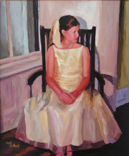 Yellow Dress by suzy durband