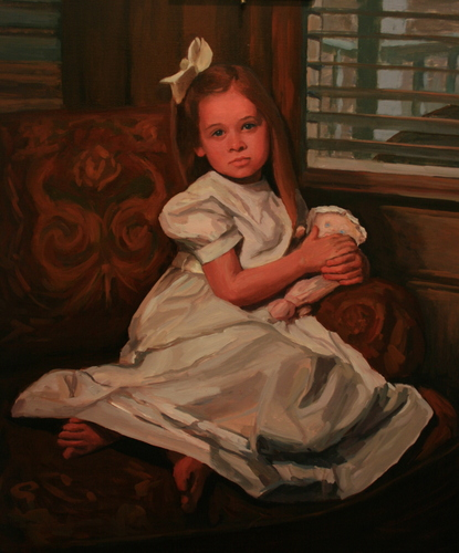 Caroline's Portrait by suzy durband