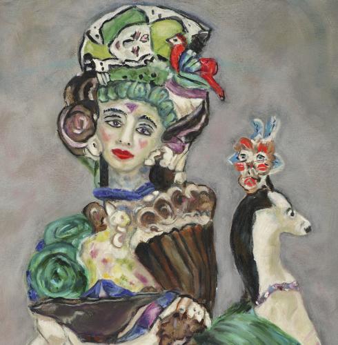 """""""Cirque du Centauresss"""" detail by Suzy Birstein"""