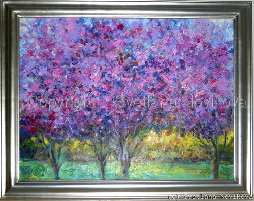 Spring Blossoms painting (large view)
