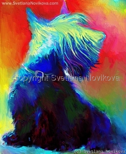 Scottish Terrier Art (large view)
