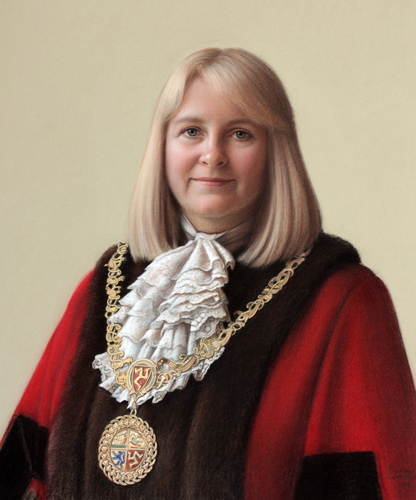 Sara Hackman, Lord Mayor of Douglas