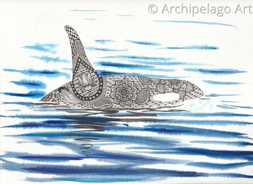 Orca Mandala