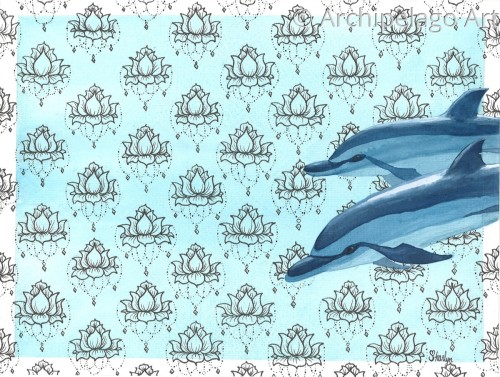 Spinner Dolphin Surreal