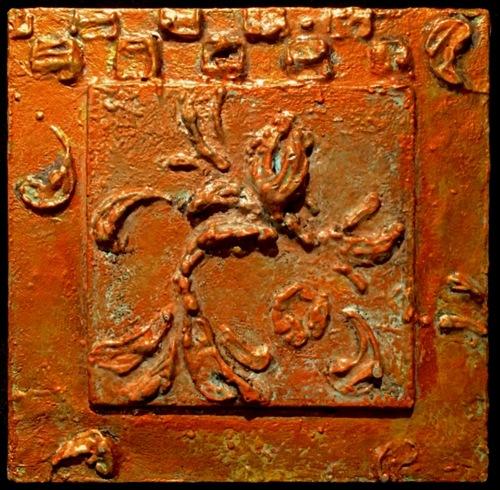 Copper Verdigris Squared
