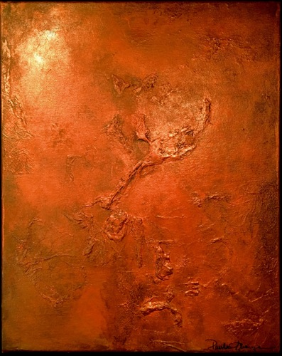 Copper on Canvas