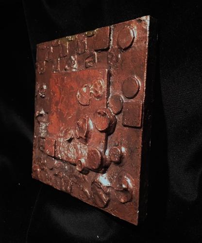 Dark Bronze Sculpture, Side View