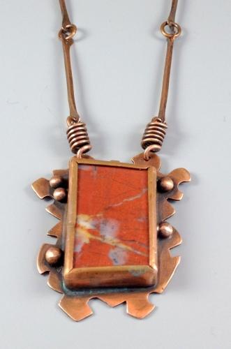 Jasper and Copper Necklace
