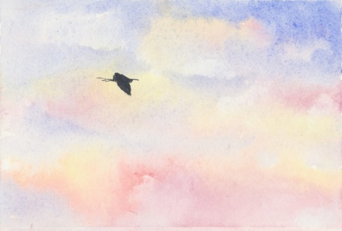 Great Blue Sunset
