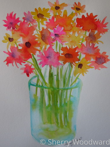 Bright Bouquet Study