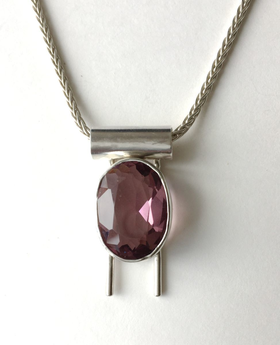 461 - MN Pink Amethyst, Silver (large view)