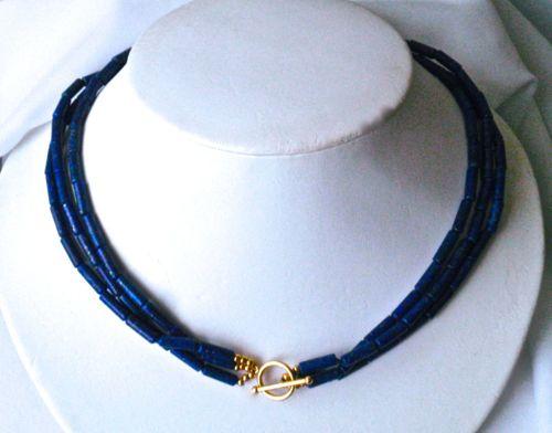 391- MN Lapis Lazuli, 14Kt Gold