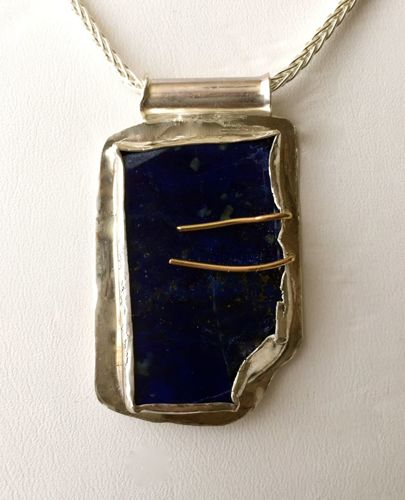 345-MN Lapis Lazuli, Silver, GF (large view)