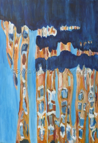 Painting: Modern Reflections of Venice 1