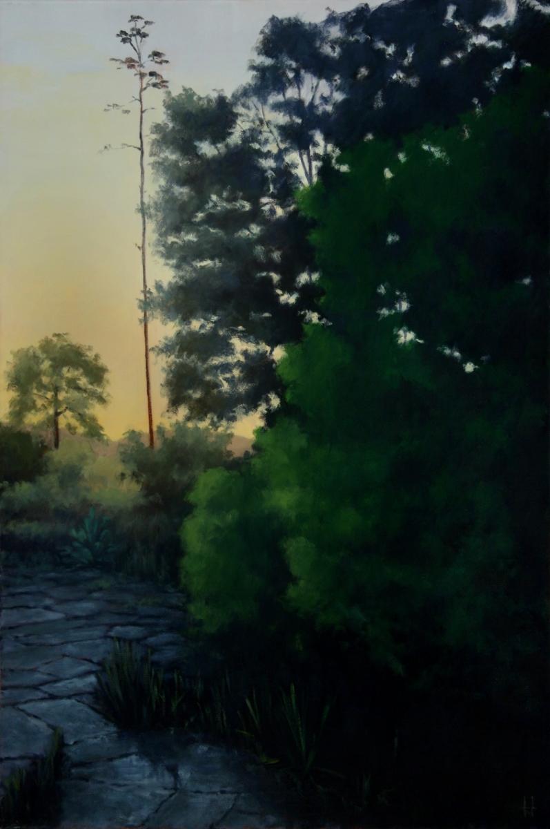 Utopian Patio at Dusk (large view)