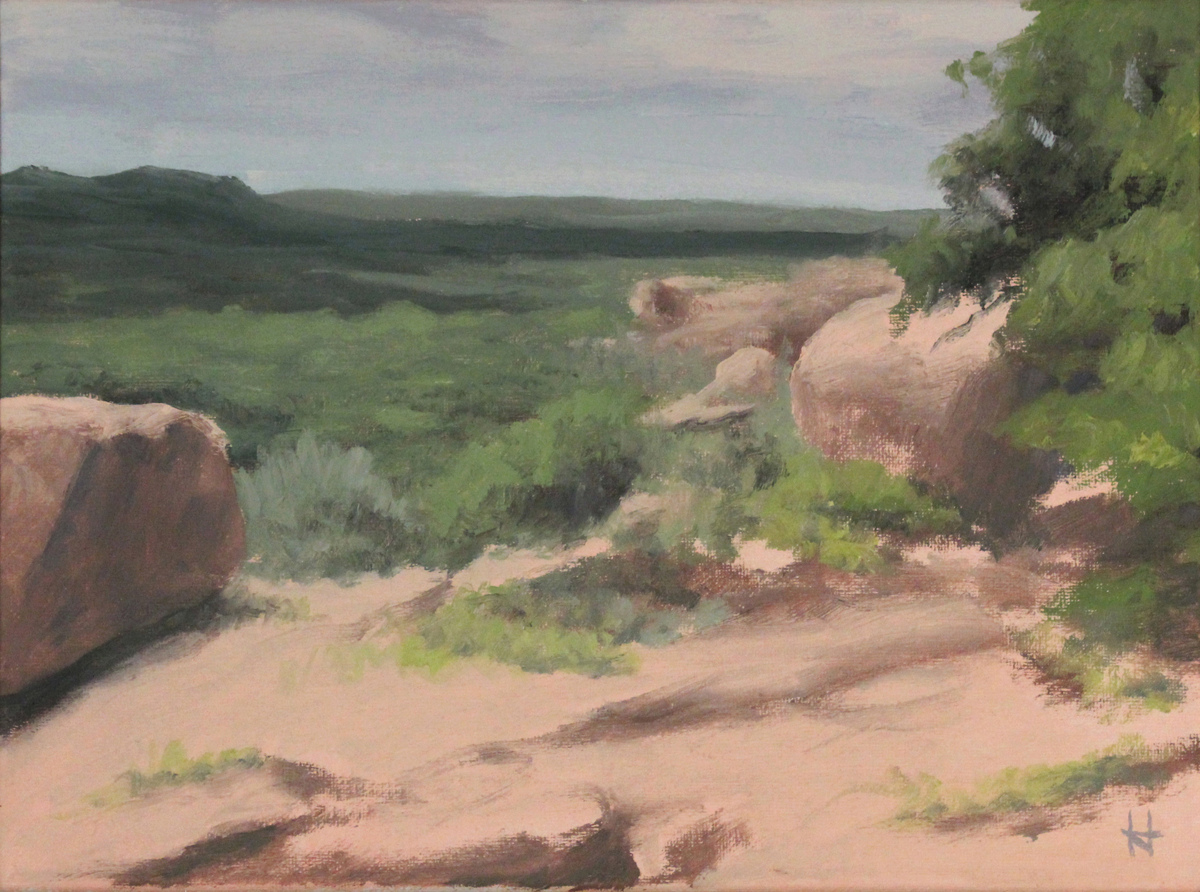 Study: Hill Country Vista (large view)