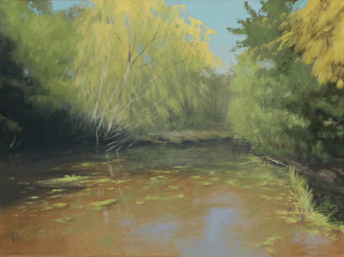 Study: Spring Willow (large view)