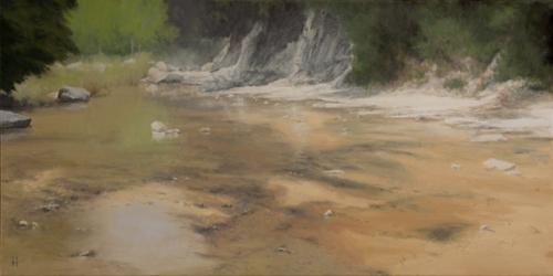 Sunlit River Canyon