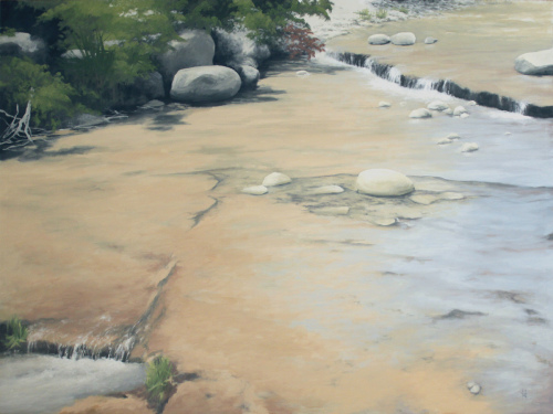 Cascading Creek by Harold Joiner