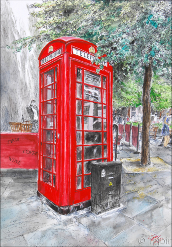 The Phone booth!