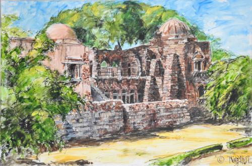 Hauz Khas Ka Madrassa ( delhi)