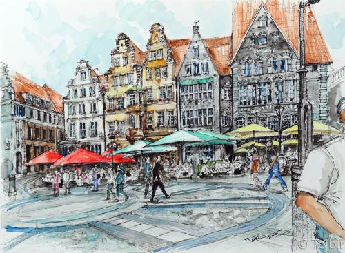 Bremen's Heritage by Tejbir Singh