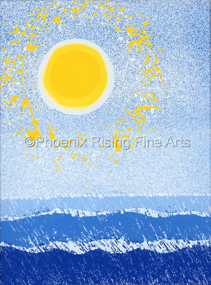 Lake Michigan Sunscape (large view)