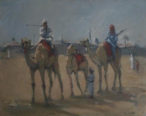 Racing Camels Dubai