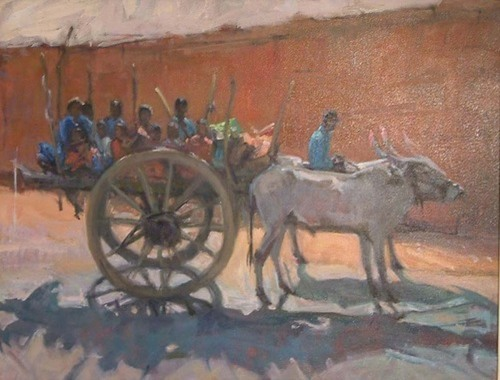 Bullock Cart, India