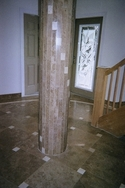 Details of the Deltec and Stone Mart workmenship using travertine and the right installation company. (thumbnail)