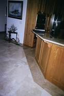 Photograph of custom marble work in a Deltec Home on St. Petersburg Beach, Florida. (thumbnail)