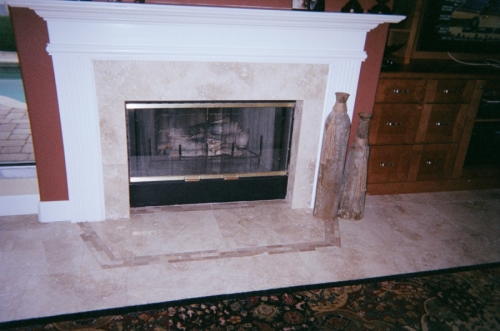 Ann's fireplace