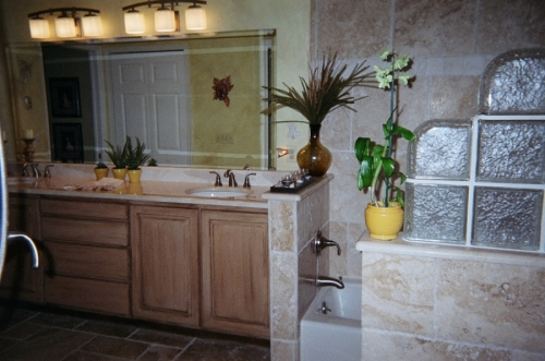Sandy's masterbath layout