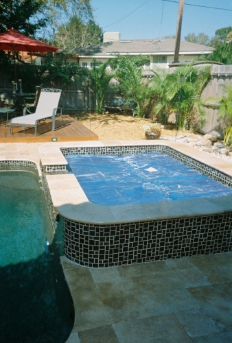 Noren marble pool top