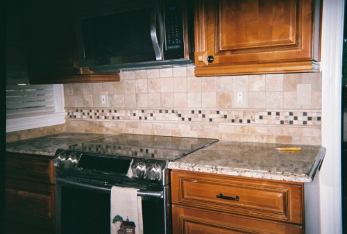 Todds backsplash