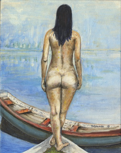 Nude at Boat