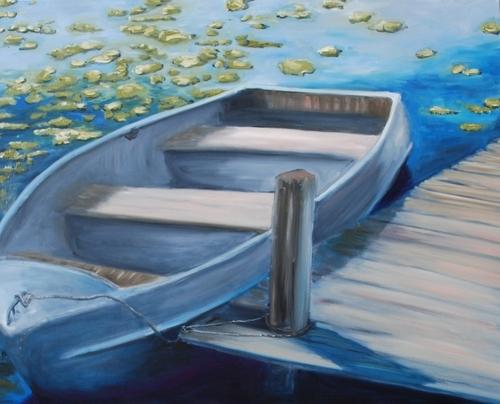 Life on Druid Lake I by TARA O'Neill