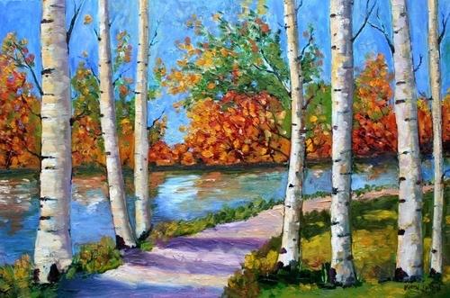 Birch Tree Fall River