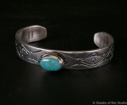 Stamped Sterling Silver Candelaria Cuff
