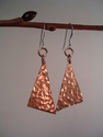 Hammered Angles Earrings (thumbnail)