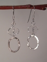Clearly Smart Sterling Silver earrings (thumbnail)