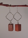 Squares to Rectangles Sterling Silver earrings (thumbnail)