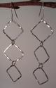 Box Drop Sterling Silver earrings (thumbnail)