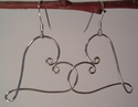 Oh my Heart! Sterling Silver earrings (thumbnail)