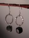 Ovalisque drop Sterling Silver earrings (thumbnail)
