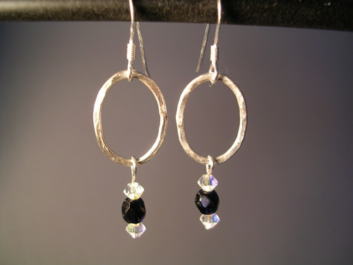 Dazzlelink Earrings by Metallack