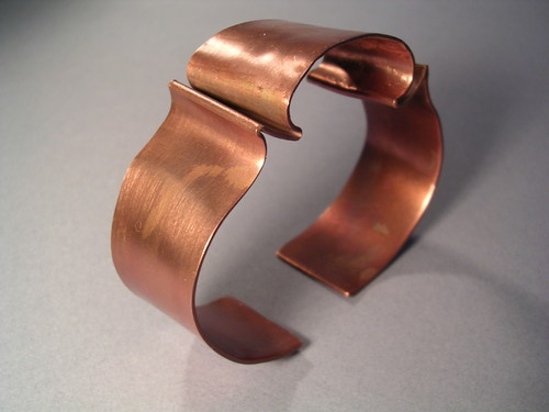 Copper Arc Cuff